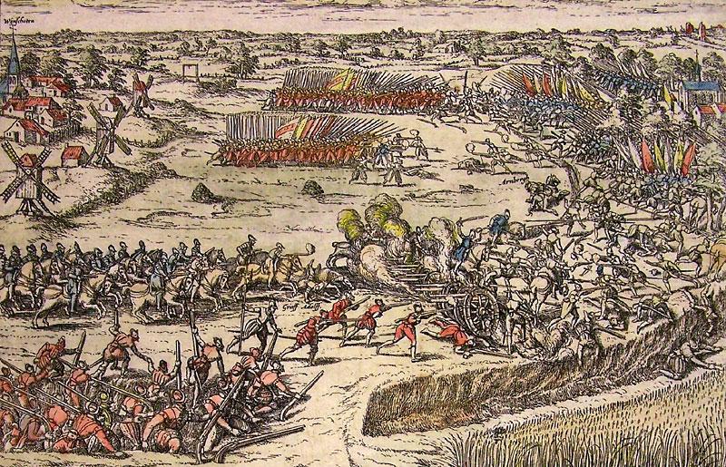 Resultado de imagen de batalla de Heiligerlee